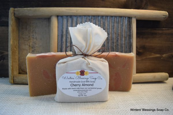 Winters Blessing Soap - Cherry Almond