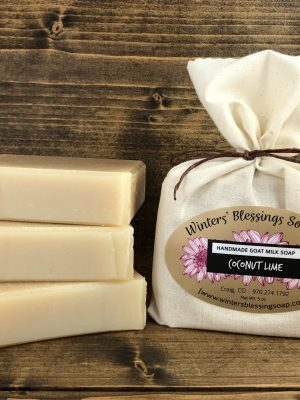 Coconut Lime Goat Milk Soap