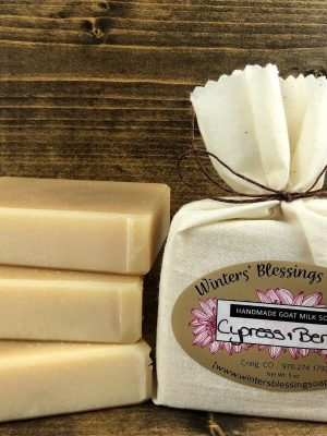 Cypress & Berries Goat Milk Soap