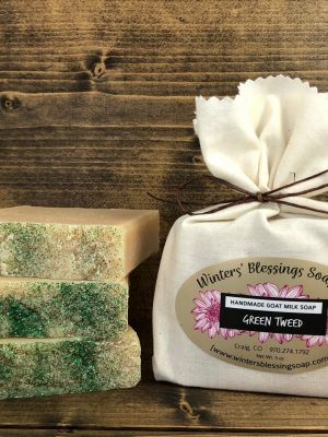 Green Irish Tweed Goat Milk Soap