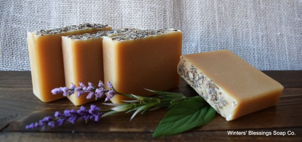 Winters Blessing Soap - Lavender