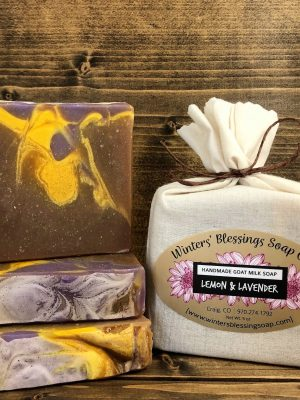 Lemon and Lavender Goat Milk Soap