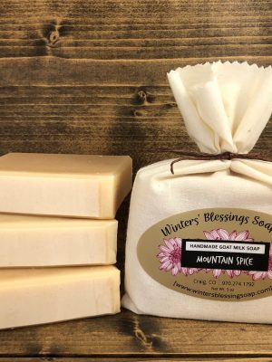 Mountain Spice Goat Milk Soap