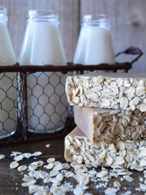 Oatmeal Milk and Honey Goat Milk Soap