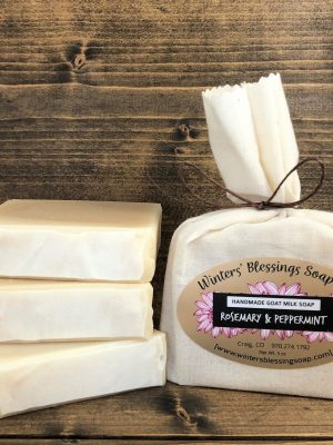 Rosemary and Peppermint Goat Milk Soap