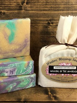 Walking In The Moonlight Goat Milk Soap