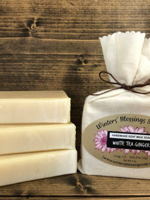 White Tea and Ginger Goat Milk Soap