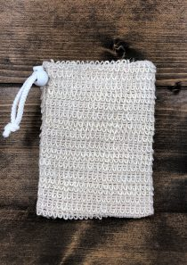 Soap Saver Scrubbie Bag